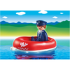 6795 Man with Water Raft - Little Baby