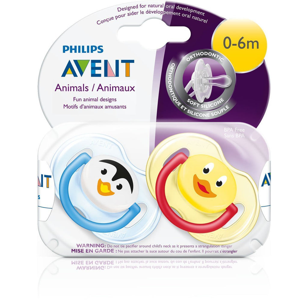 Philips AVENT Silicone Soothers 0-6mths - Little Baby Singapore - 2