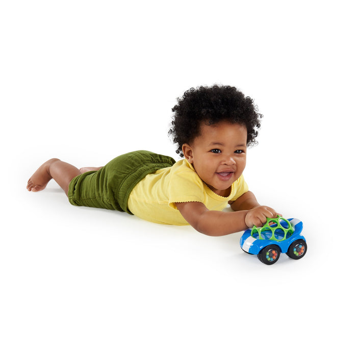 Bright Starts Oball Rattle & Roll Sports Car Toy BS81559