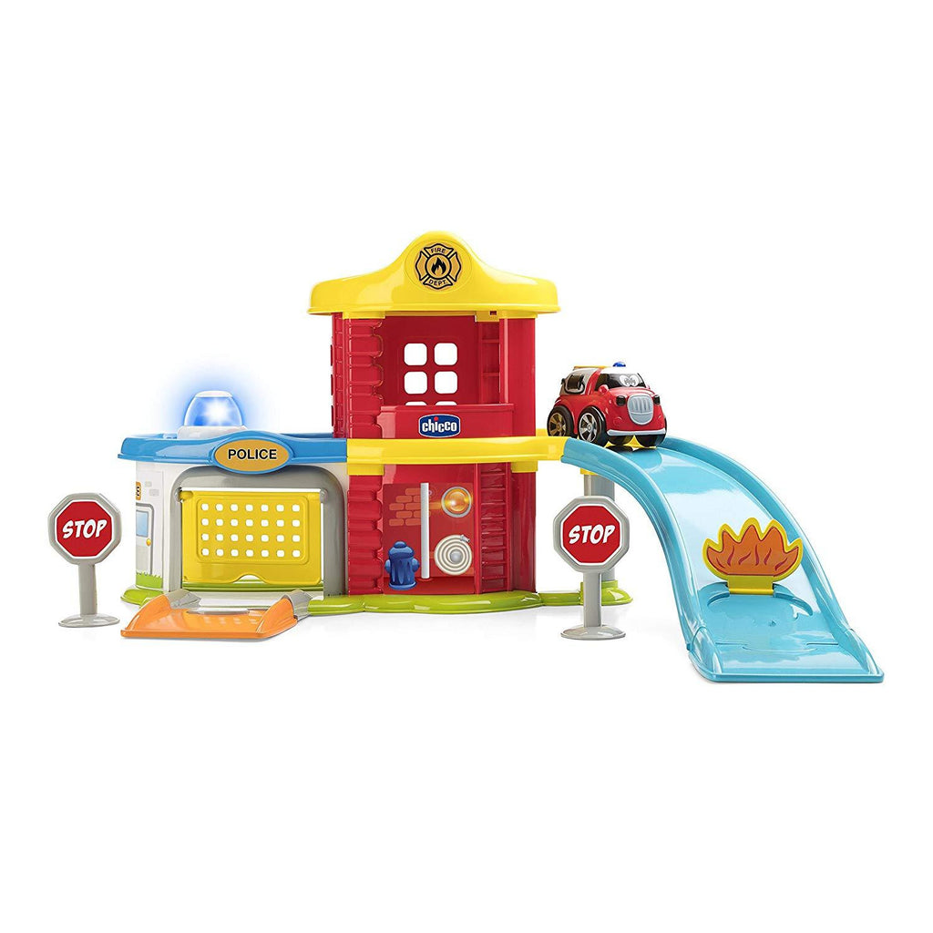 Chicco Game Police-fire Station Playset