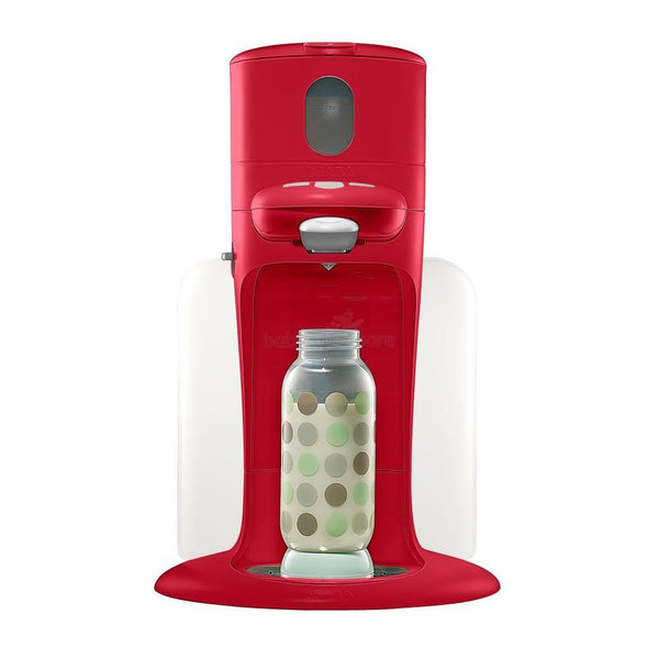 Beaba Bib'expresso : 3-in-1 baby bottle processor (Red) - Little Baby