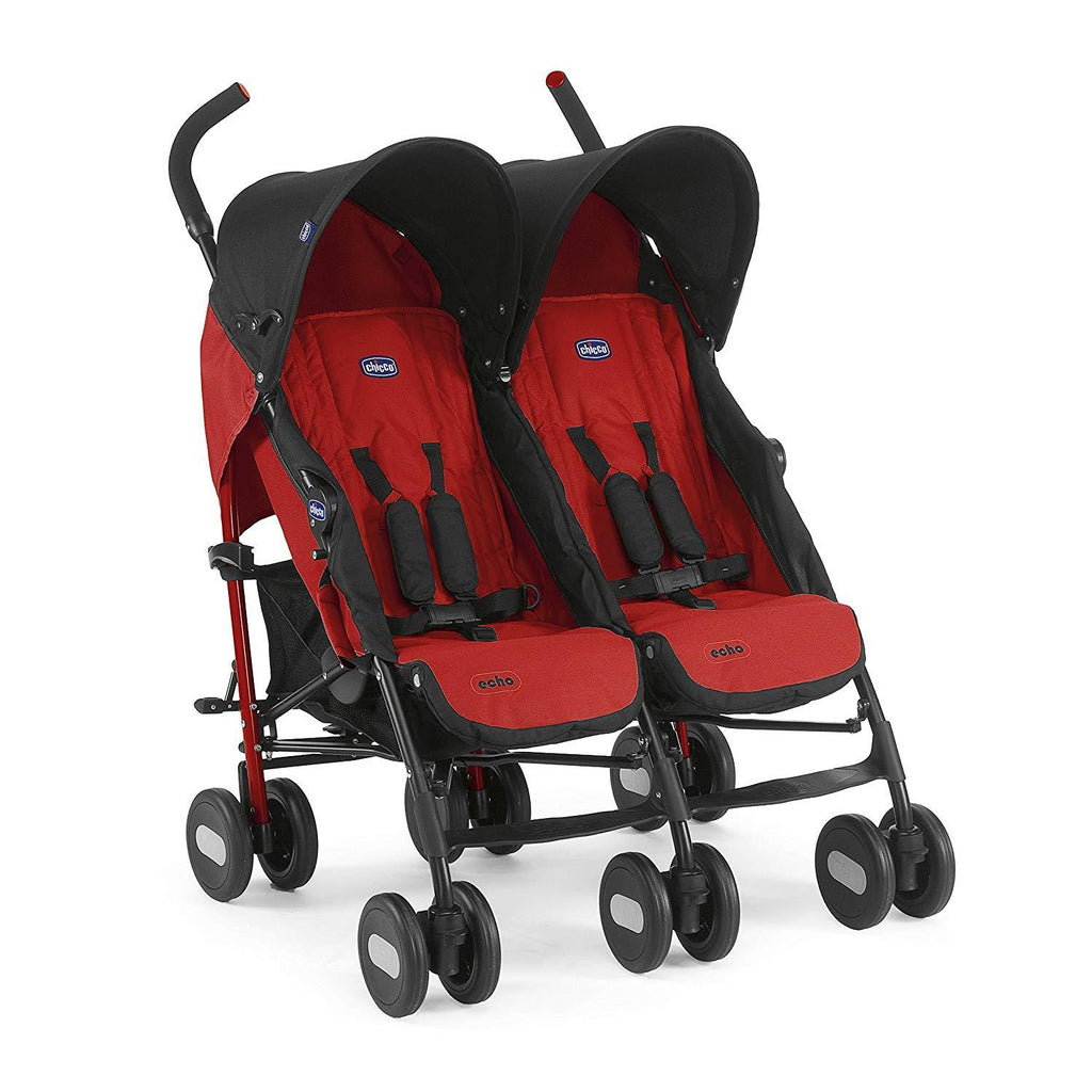 Chicco - Echo Twin Stroller Garnet