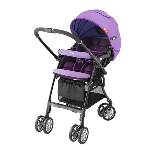 Aprica LUXUNA CTS PURPLE - Little Baby Singapore - 1