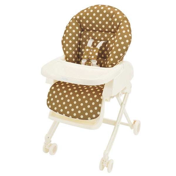Aprica High-Low Bed & Chair (Brown) - Little Baby