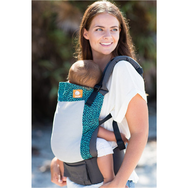Coast Aqua Rain - Tula Baby Carrier