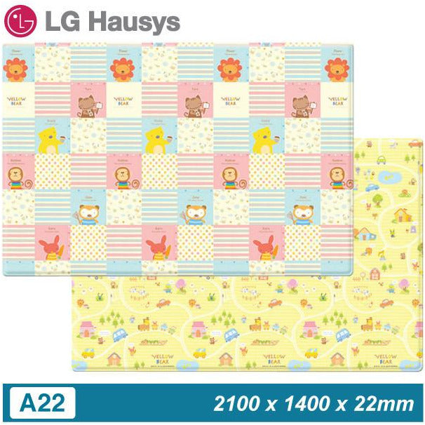 LG Hausys Asobang Yellow Bear Candy - Little Baby