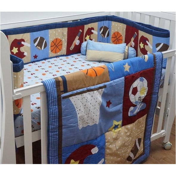 Bedding Set – B5 (Ball Games) - Little Baby