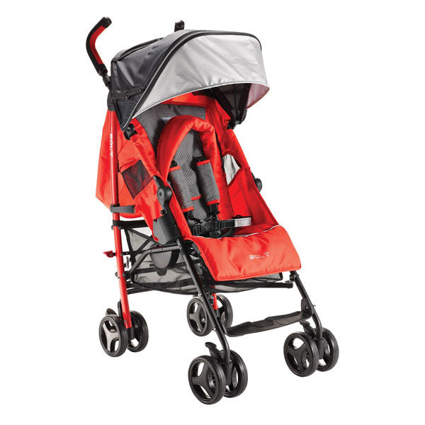 Bonbebe Bolt Stroller – Red - Little Baby