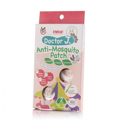Farlin Doctor J. Anti-Mosquito Patch - Citronella & Wormwood