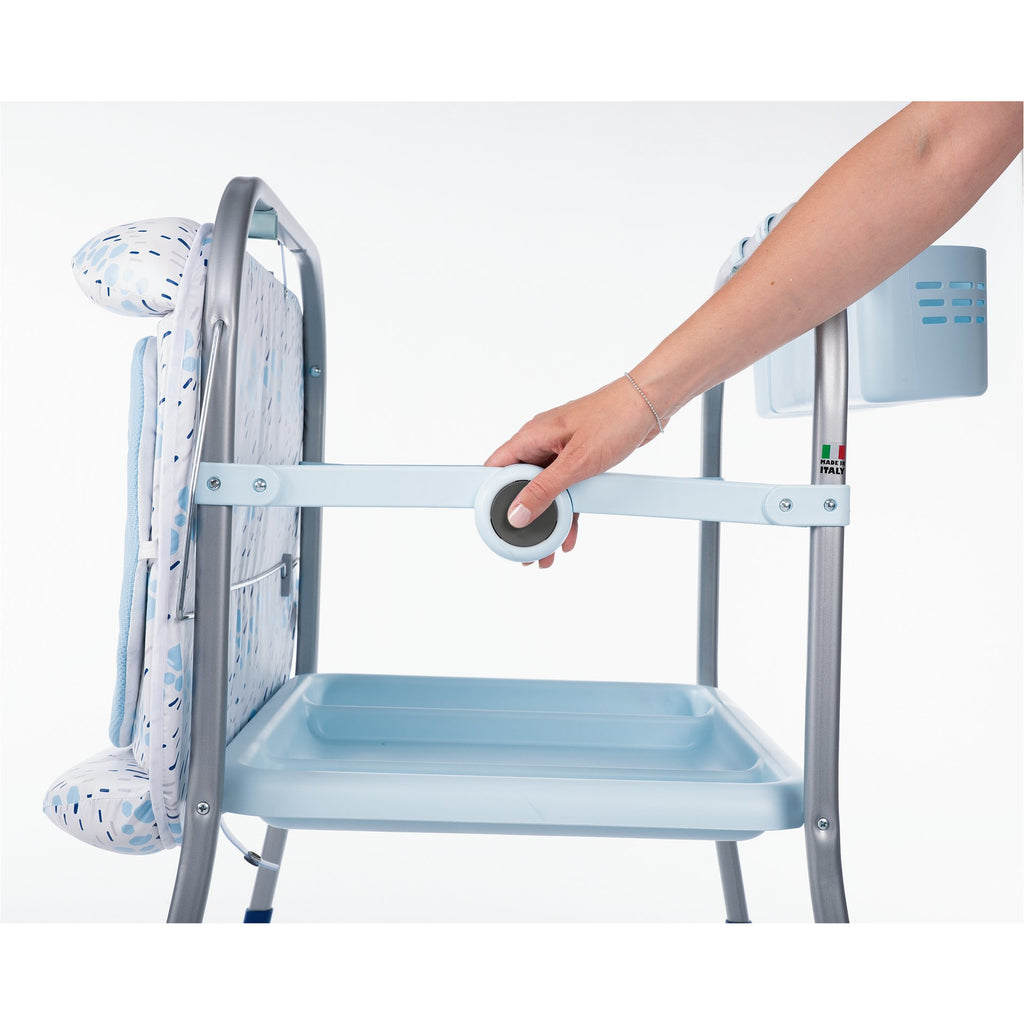 Chicco Cuddle & Bubble Comfort Baby Bathtub / Changing Station Ocean
