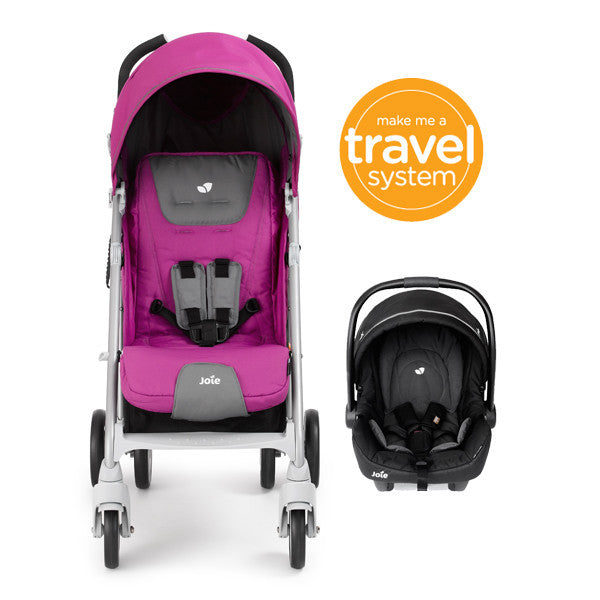 Joie Brisk Travel System FUCHSIA - Little Baby