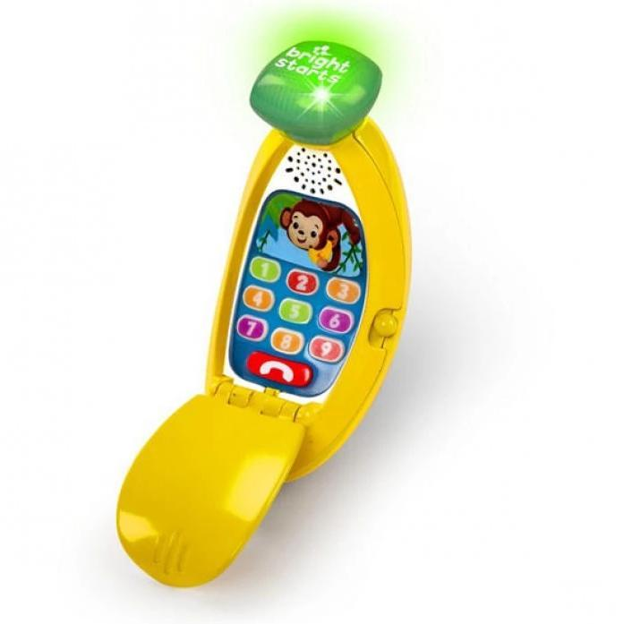 Bright Starts LLB Giggle & Ring Phone Toy BS10040
