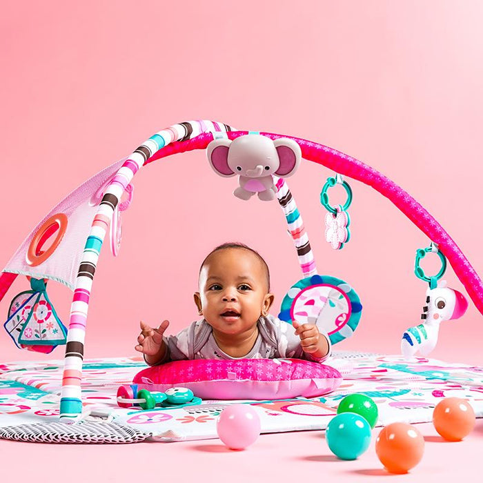 Bright Starts Activity Gym 5-in-1 Your Way Ball Play Activity Gym - Pink BS10786 P