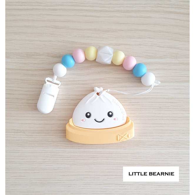 Little Bearnie Modern Baby Teether Clip Set - Bao-licious