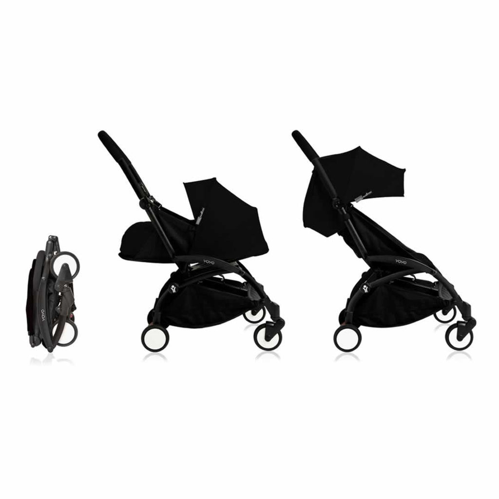 BabyZen YOYO+ Newborn 0+ & 6+ Stroller (Choose Your Colours)