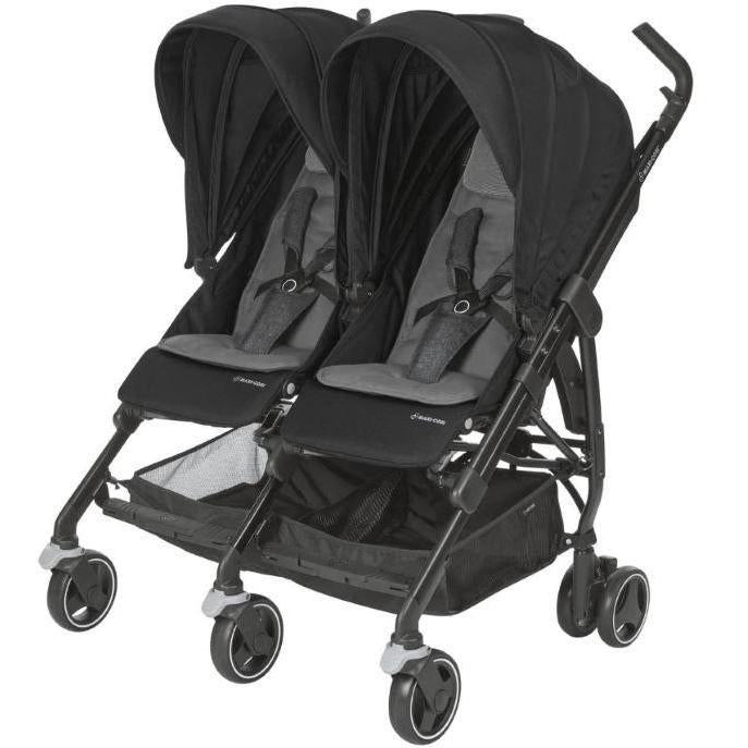Maxi Cosi (10/30) Dana for 2 Stroller - Nomad Black