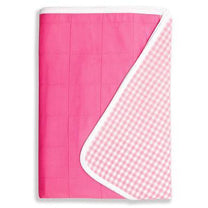 Brolly Sheets (Pink - Single Size) - Little Baby