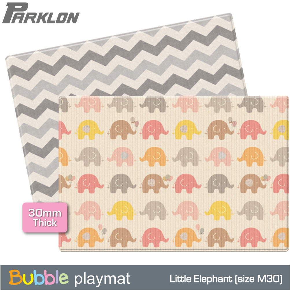 Parklon Little Elephant/Grey Zig Zag (M30) - Little Baby Singapore - 1