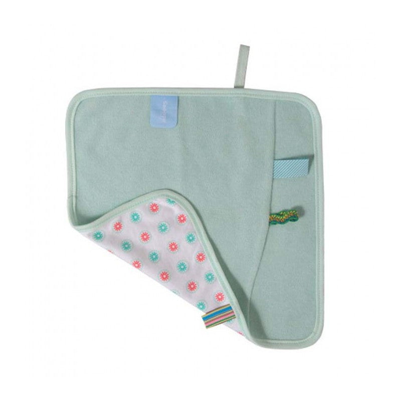 Snoozebaby Burping Cloth - Organic Mint - Little Baby