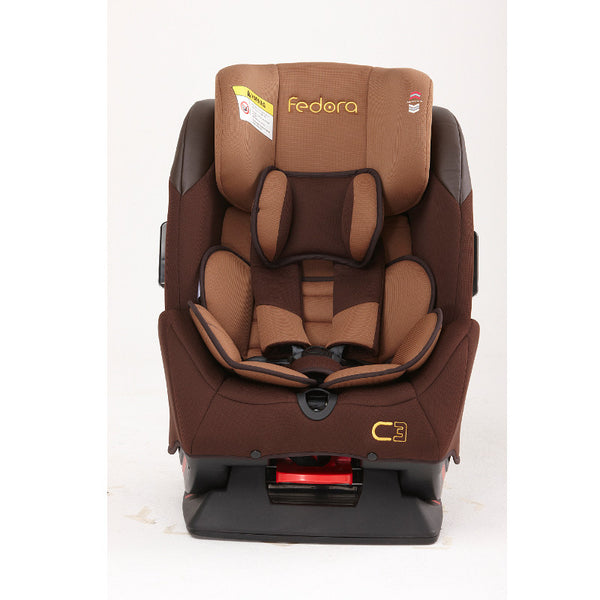 Fedora C3 Car Seat - Brown - Little Baby
