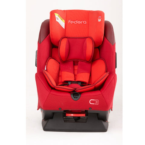 Fedora C3 Car Seat - Red