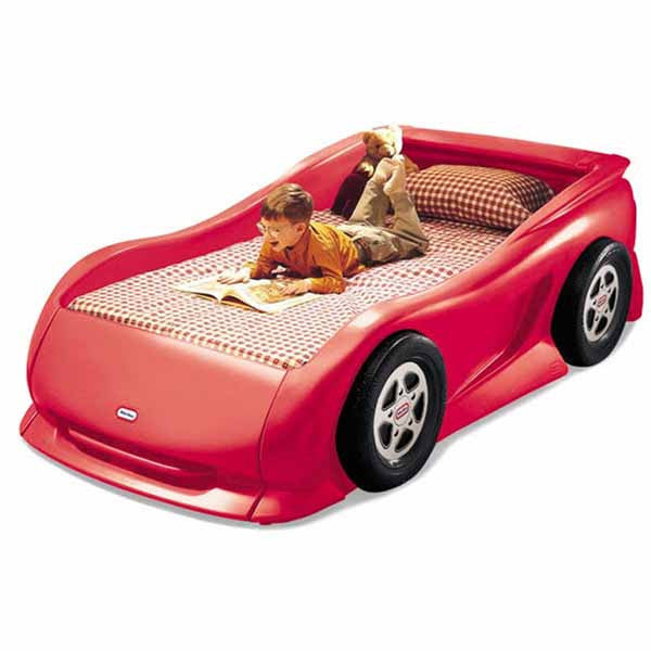 Little Tikes CHERRY RED SPORTS CAR TWIN BED - Little Baby
