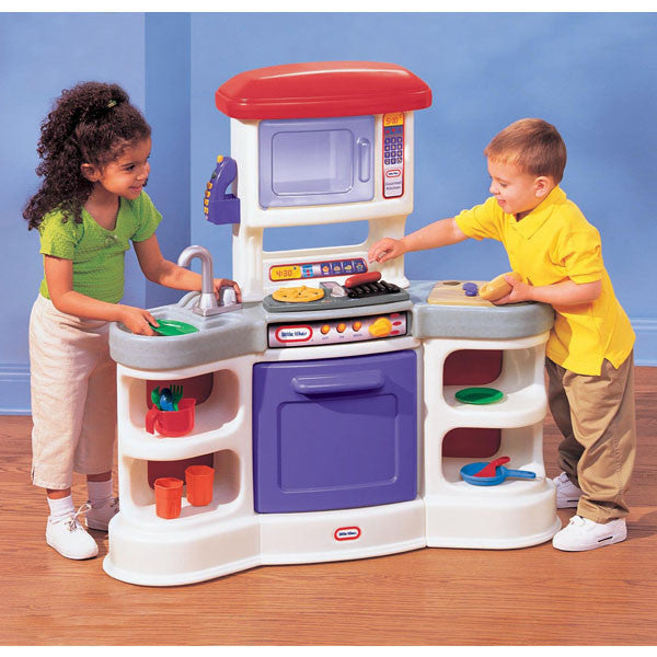 Little Tykes Kitchen: Little Tikes COOKIN' SOUNDS GOURMET Kitchen