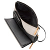 Petunia Pickle Bottom Crossover Clutch: Birch/Black