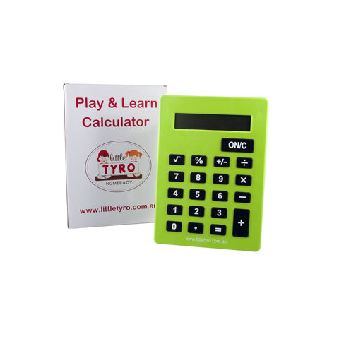 Little Tyro Play and Learn Calculator