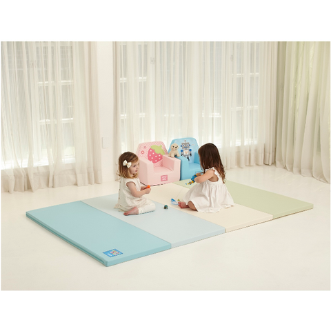 Alzipmat Color Folder Playmat Grand - Cream Mints