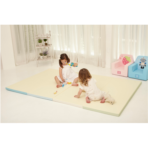 Alzipmat Color Folder Playmat Standard - Cream Mints - Little Baby