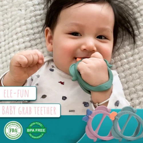 Baby Express Grab Teether - Ele-Fun