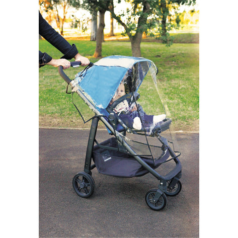 Dreambaby Stroller Weather Shield - Black Piping DB00259