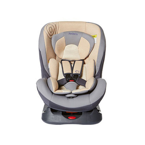 Fedora C1 Organic Car Seat - Grey - Little Baby