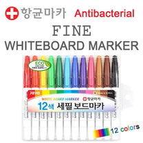 Momsboard Fine whiteboard marker – 12 colors set