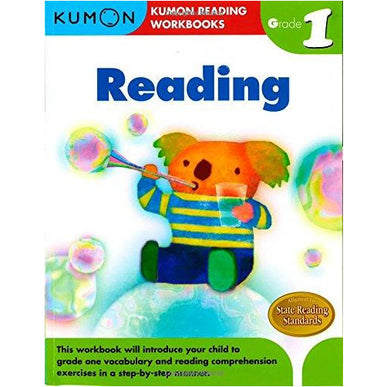 Kumon Grade 1 Reading Workbooks