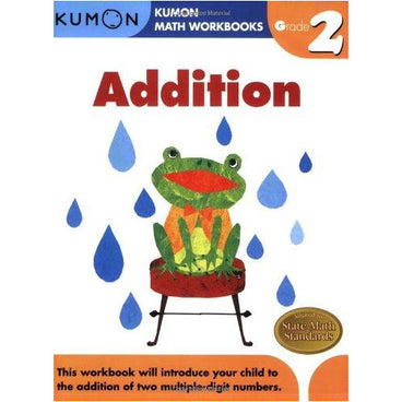 Kumon Math Workbooks Grade 2 Addition