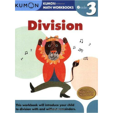 Kumon Math Workbooks Grade 3 Division