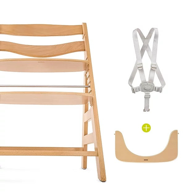 Hauck Alpha+ Trio: Highchair + Tray + Bouncer
