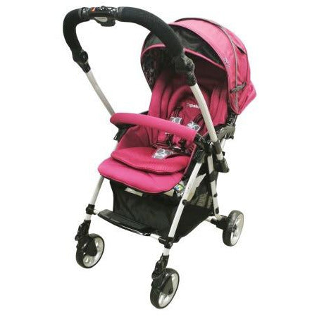 Capella Stroller Adonis Classic Premium Fabric 2015 S-705 Wine - Little Baby Singapore - 1