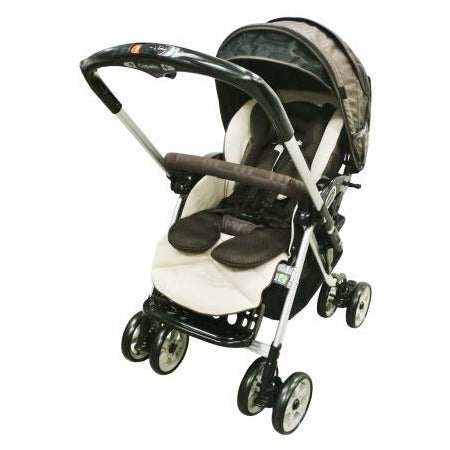 Capella Stroller Adonis Classic Premium Fabric 2015 S-705 Brown - Little Baby