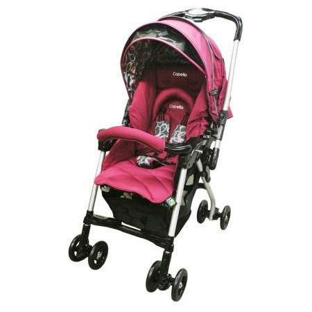Capella Stroller Charmant 2015 Model S-226 WINE - Little Baby