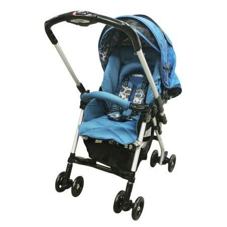Capella Stroller Charmant 2015 Model S-226 BLUE - Little Baby