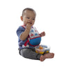 B.box Travel Bib w/ Baby Spoon (Beep Beep) - Little Baby