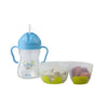 B.box Snack Pack with Soft Tip Spoon (Aqualicious) - Little Baby