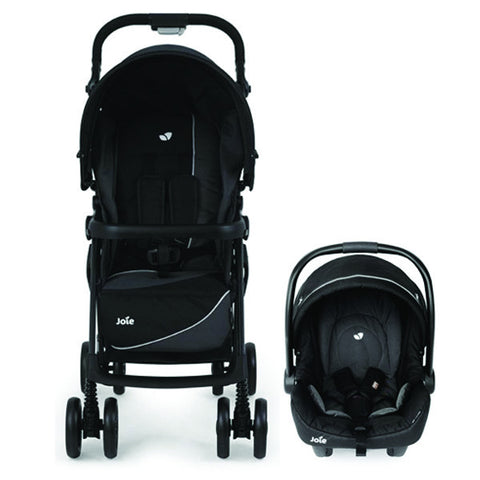 Joie Aire LX Travel System MIDNIGHT