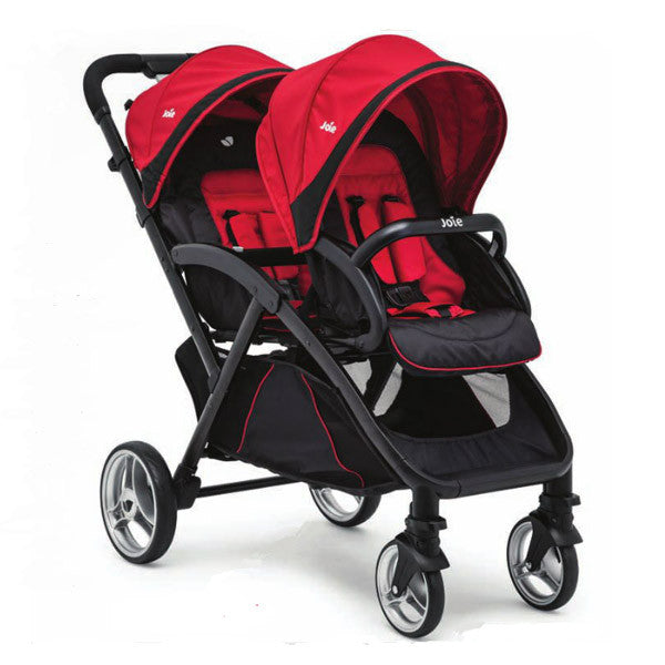 joie evalite duo cherry stroller shop joie twin stroller at little baby. Black Bedroom Furniture Sets. Home Design Ideas