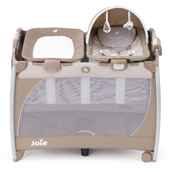 Joie Playpen EXCURSION CHANGE & ROCK (Hoot) - Little Baby