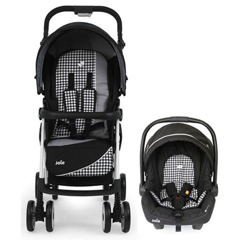 Joie Aire+ Travel System MIDNIGHT SPOT