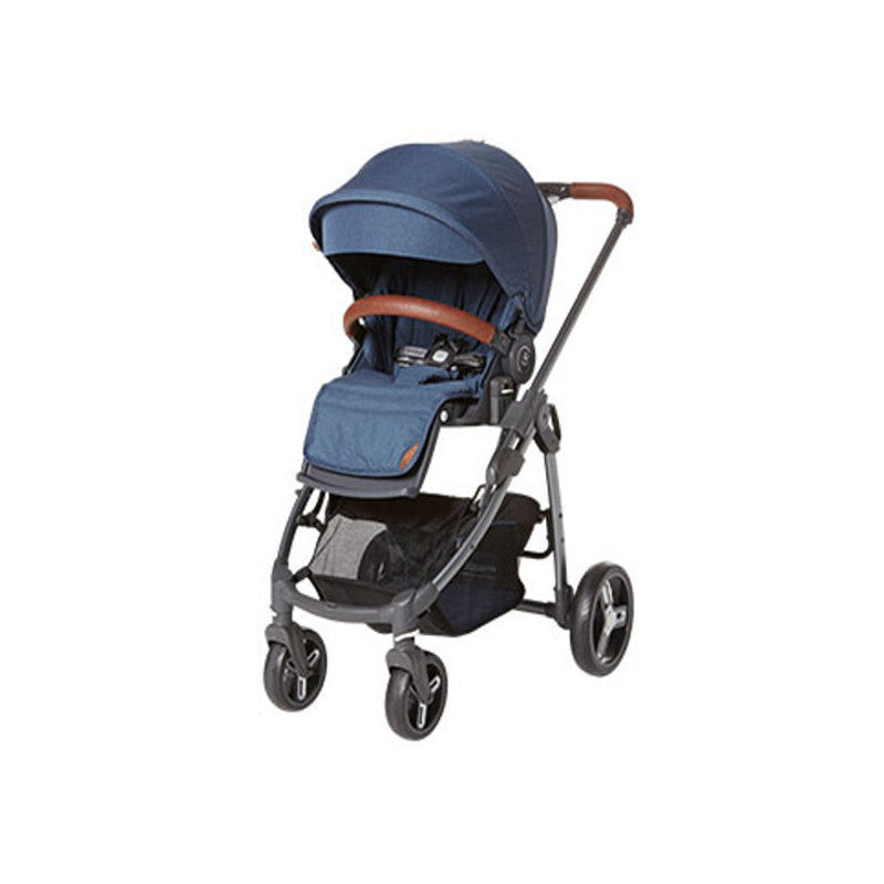 Fedora L5 Stroller  - Blue - Little Baby